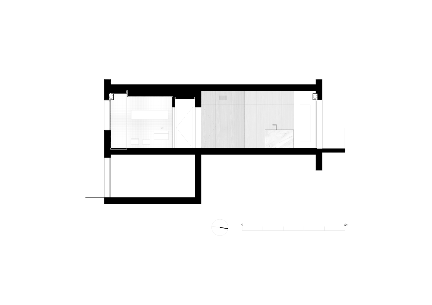 Apartment in Pisa - Section