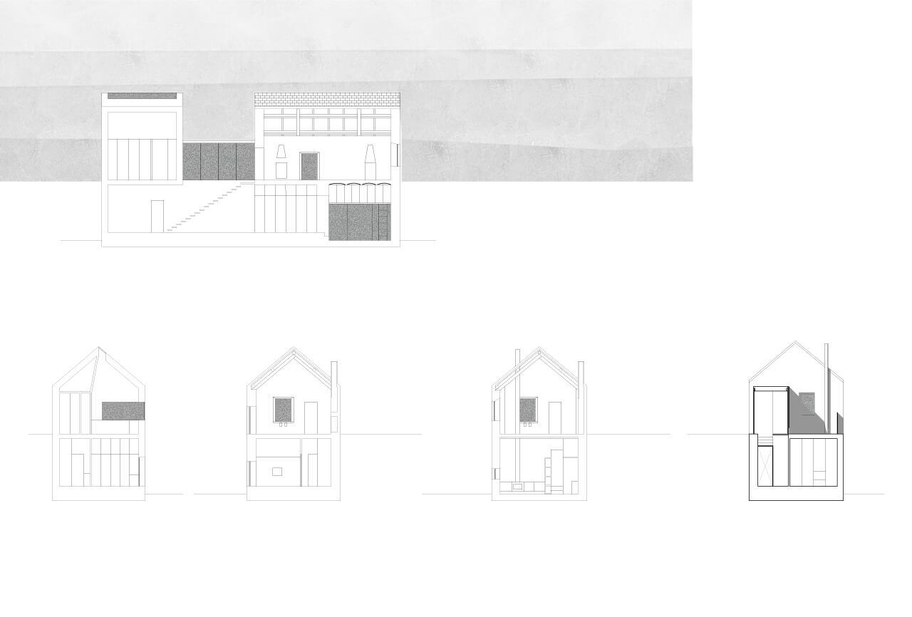 Casa a Pezzolo Valle Uzzone - sezioni