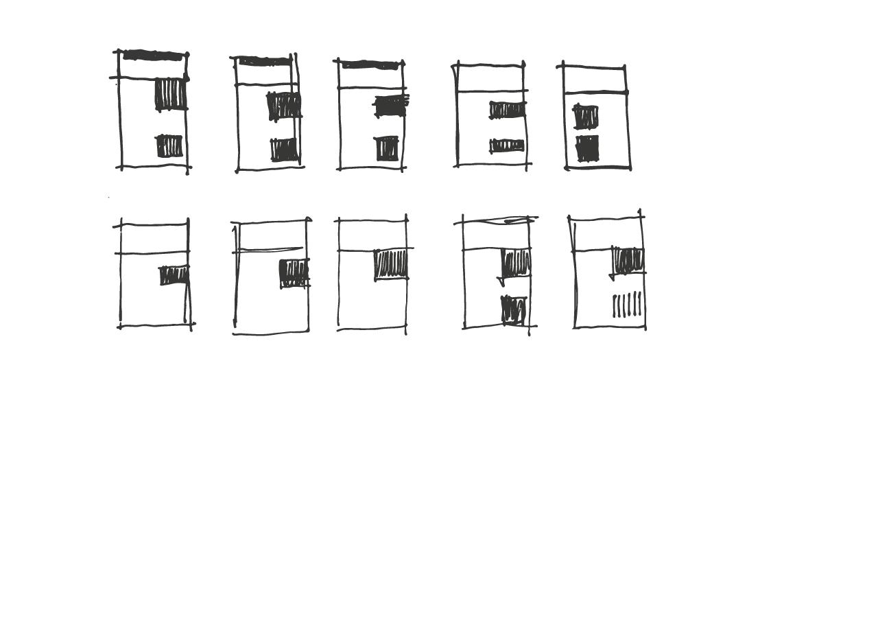 Casa a Pezzolo Valle Uzzone - schizzi progettuali