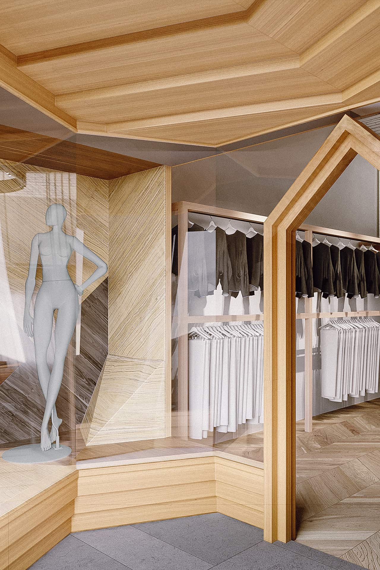 Clothes Store Restyling by sundaymorning